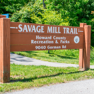 Savage Mill Trail